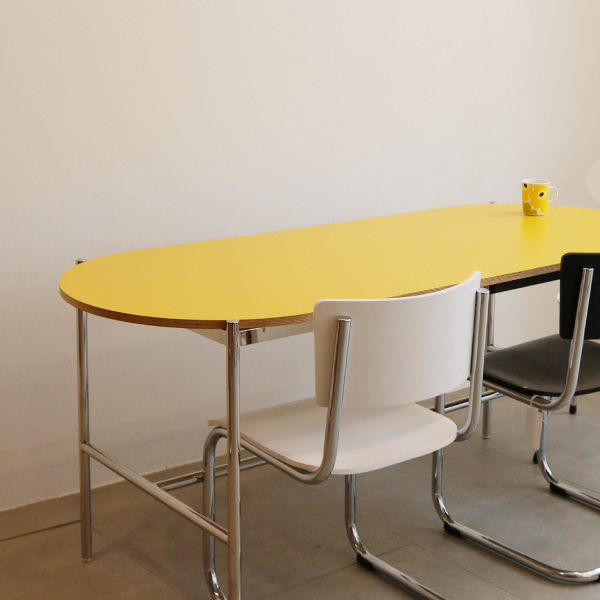 H table Yellow