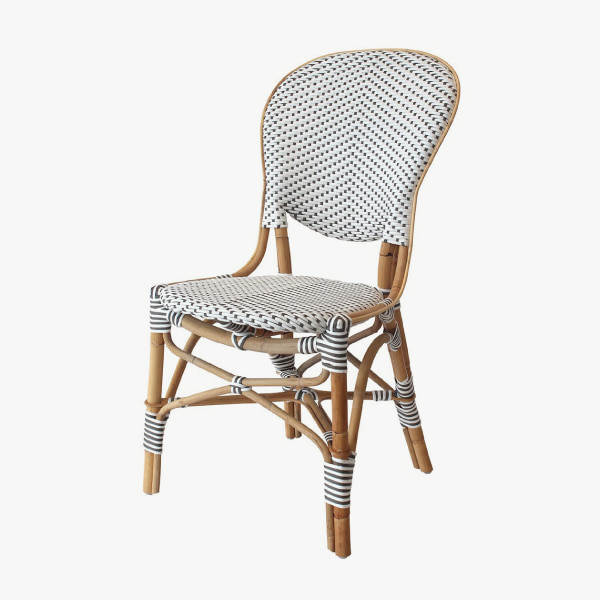 [HAVEASEAT] Isabell side chair / White이사벨체어 라탄의자 야외의자