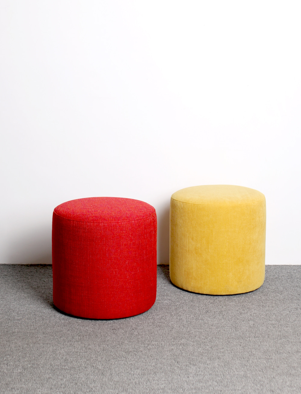 Figure stool Red