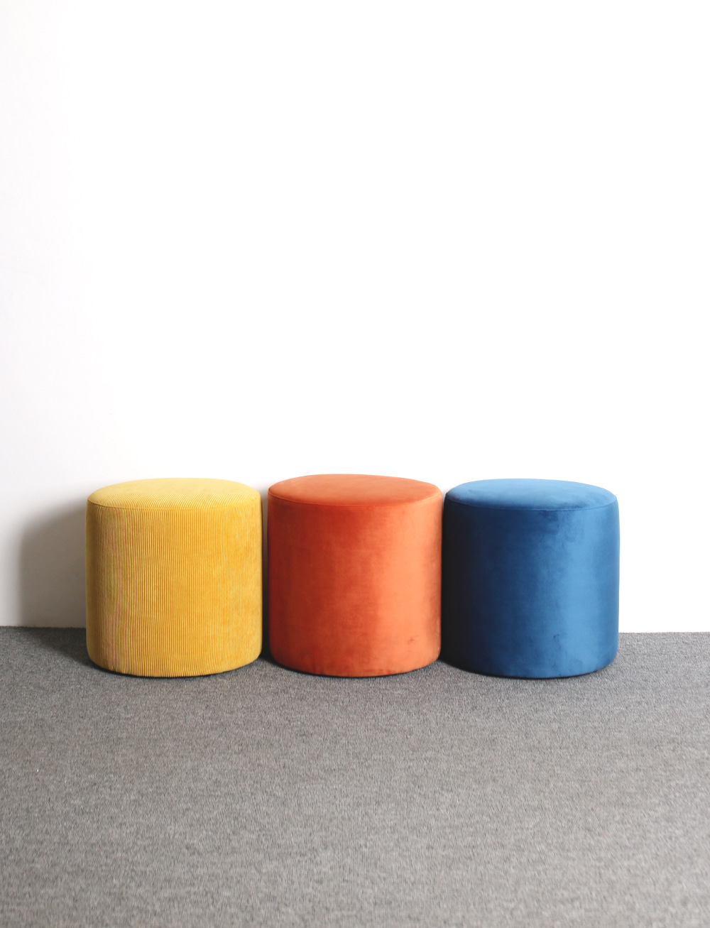 Figure stool Blue